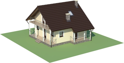 Projekt domu DM-6223 B - model