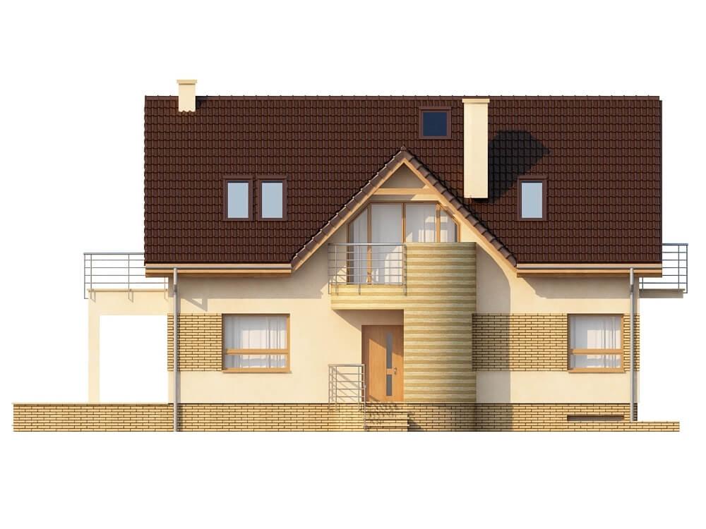 Projekt domu DM-6170 - elewacja