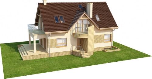 Projekt domu DM-6170 - model