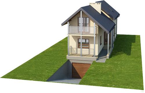 Projekt domu DM-6172 - model