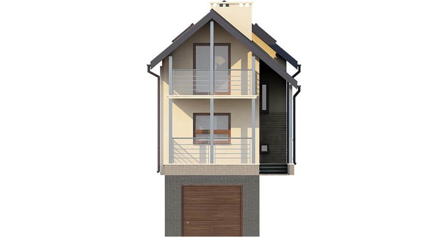 Projekt domu DM-6172 - elewacja
