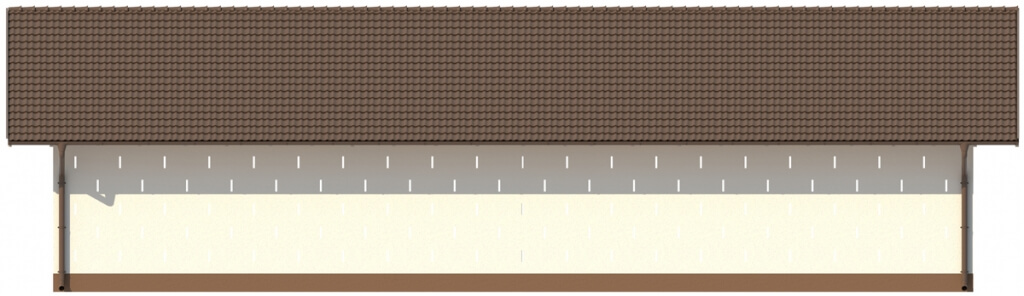 Projekt LZG-86 - elewacja