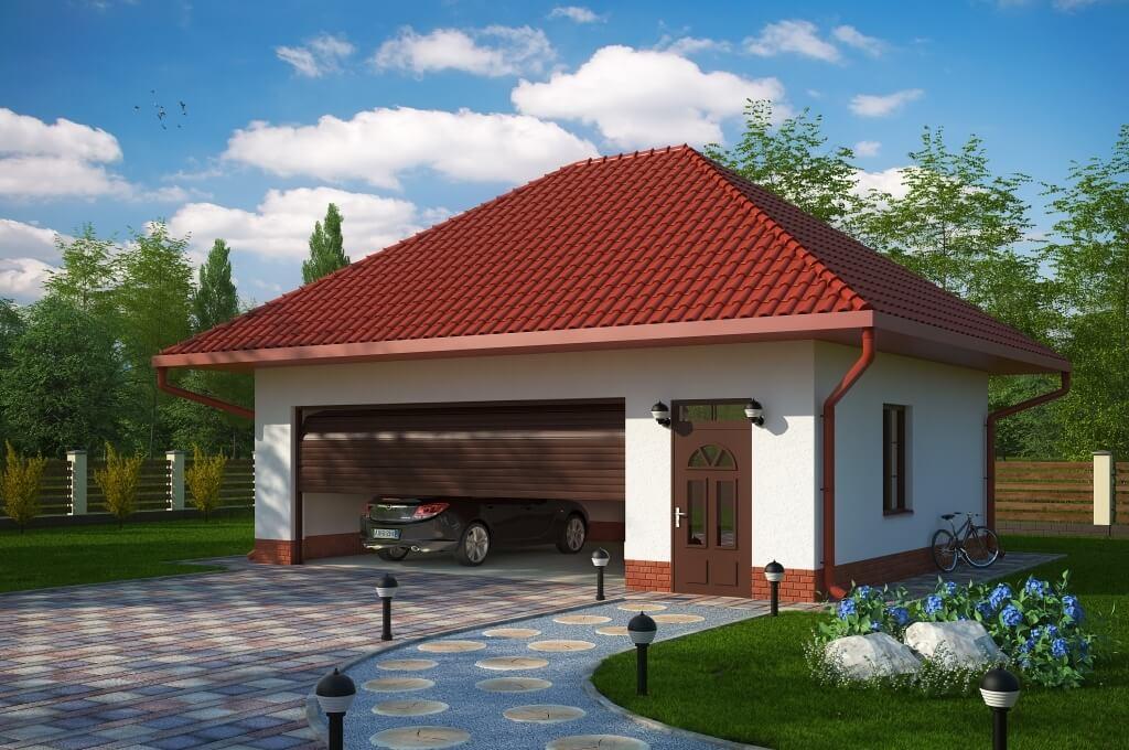 Projekt Budynku Gospodarczo Garażowegogaraż Budynek Gospodarczy