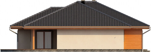 Projekt domu DM-6176 - elewacja