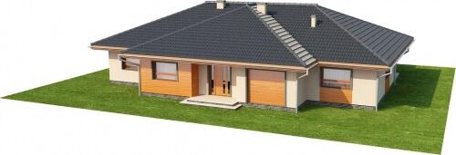 Projekt domu DM-6176 - model