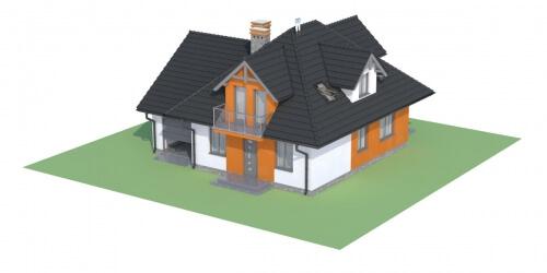 Projekt domu DM-6499 - model