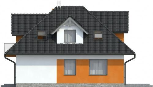 Projekt domu DM-6499 - elewacja