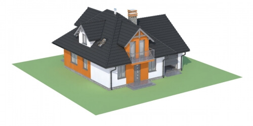 Projekt domu L-6499 - model