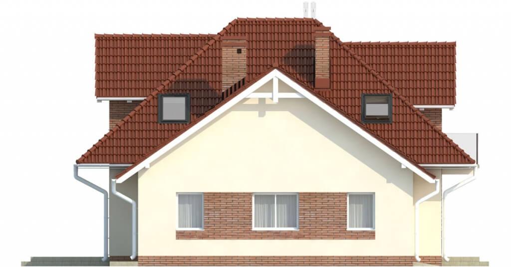 Projekt domu DM-6499 G - elewacja