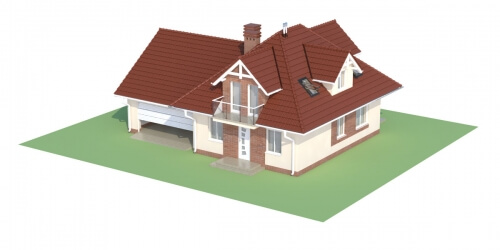 Projekt domu DM-6499 G - model
