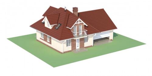 Projekt domu L-6499 G - model