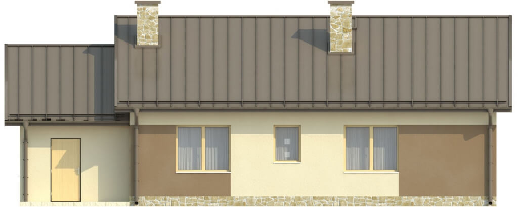 Projekt domu DM-6503 C - elewacja