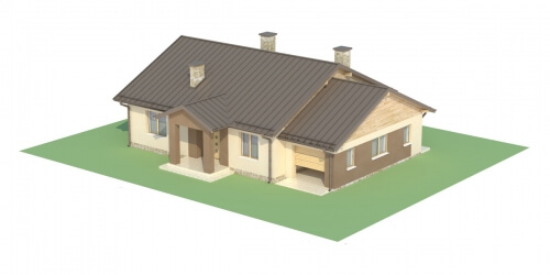 Projekt domu DM-6503 C - model