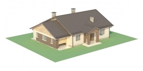Projekt domu L-6503 C - model