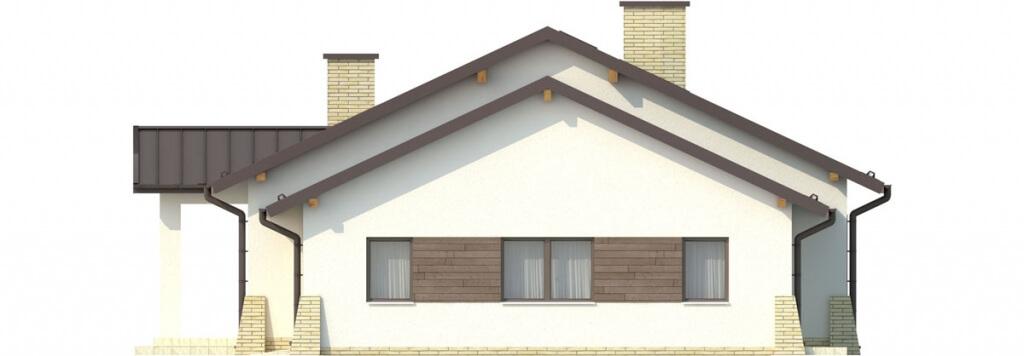 Projekt domu DM-6503 G - elewacja