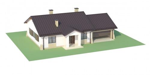 Projekt domu DM-6503 G - model