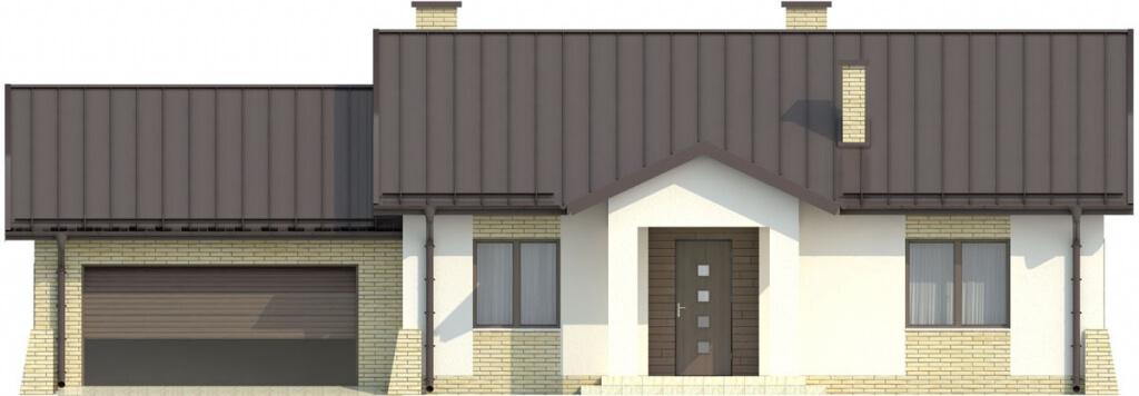Projekt domu L-6503 G - elewacja