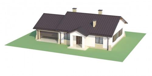Projekt domu L-6503 G - model