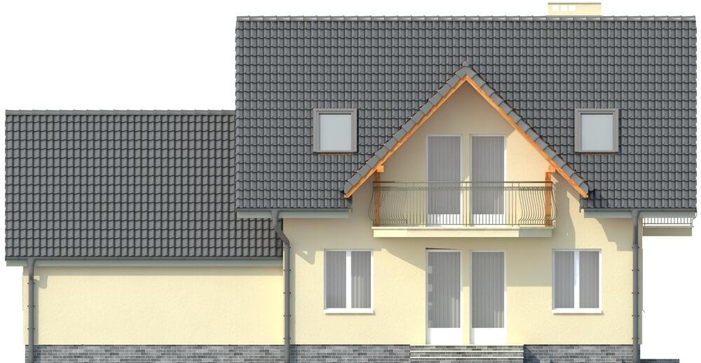 Projekt domu DM-6190 G - elewacja