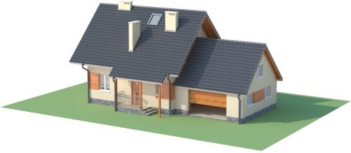 Projekt domu DM-6190 G - model