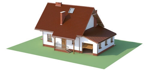 Projekt domu DM-6190 C - model