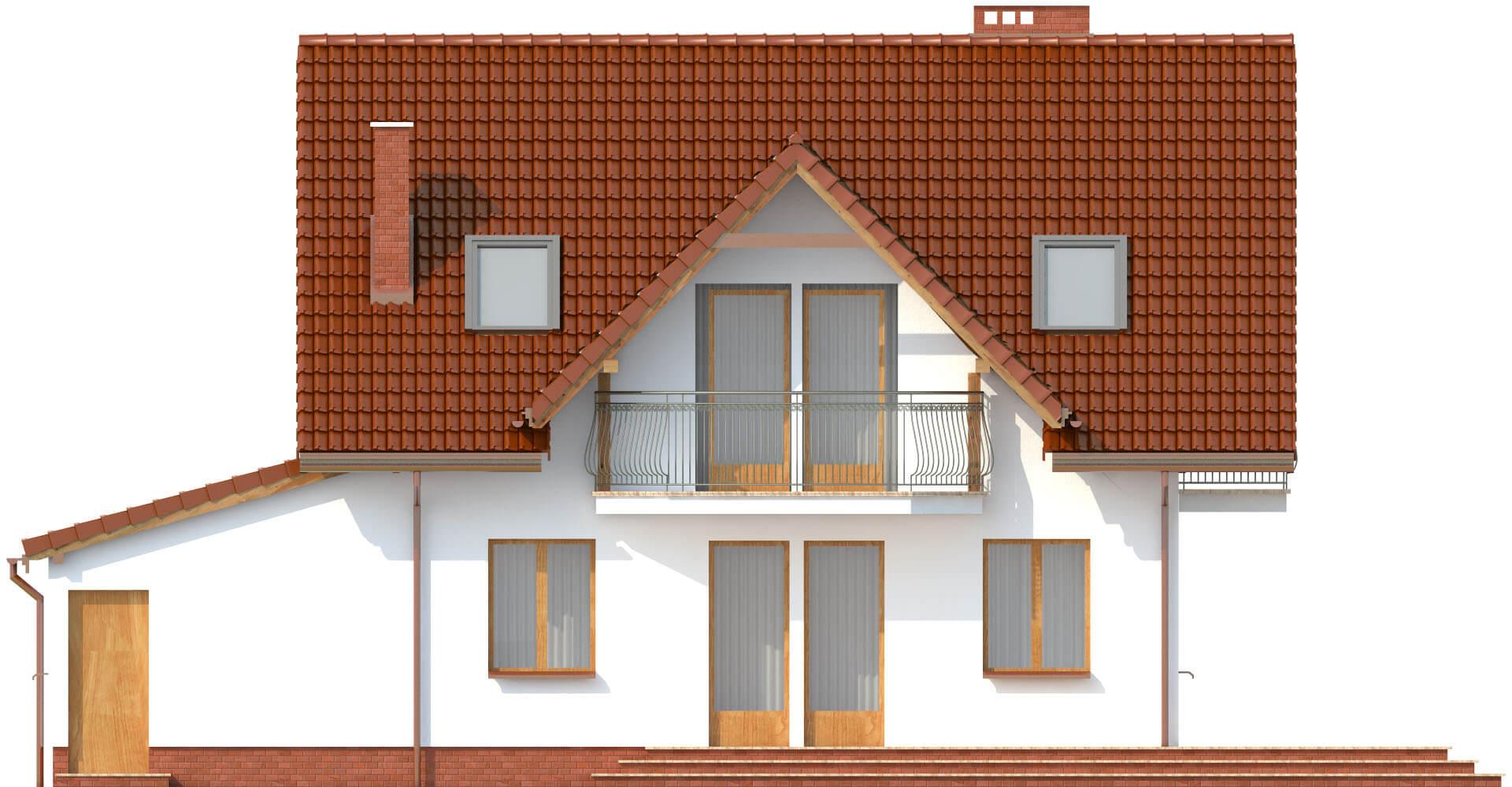 Projekt domu DM-6190 C - elewacja