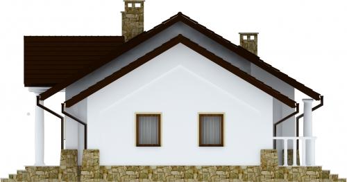 Projekt domu DM-6178 - elewacja
