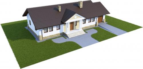 Projekt domu DM-6178 - model