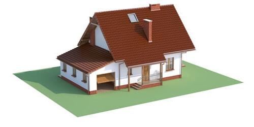 Projekt domu L-6190 C - model