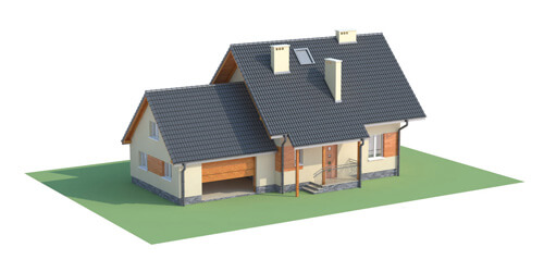 Projekt domu L-6190 G - model