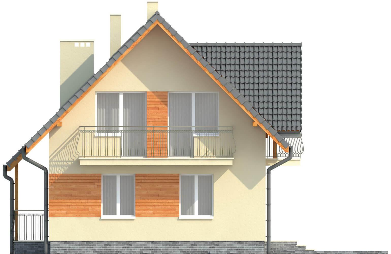 Projekt domu L-6190 G - elewacja