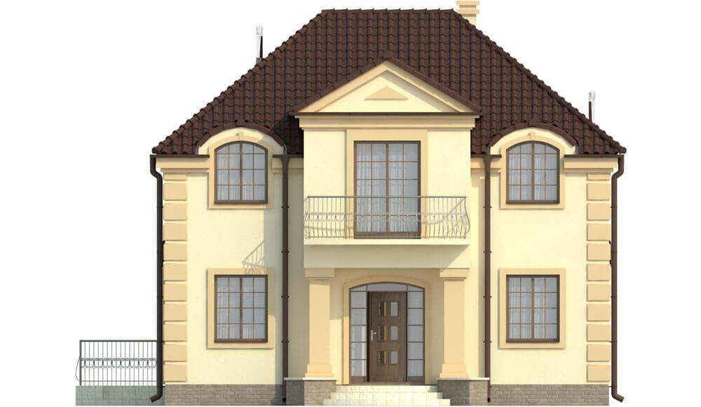 Projekt domu DM-6501 - elewacja