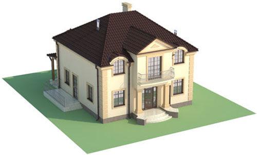 Projekt domu DM-6501 - model