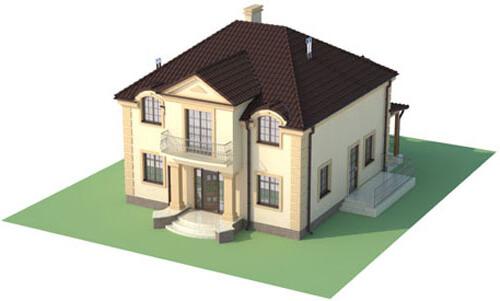 Projekt domu L-6501 - model