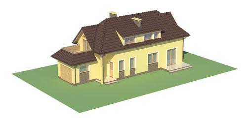 Projekt domu DM-5588 C - model