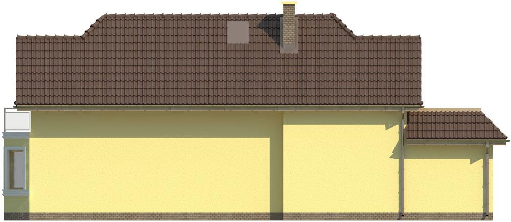 Projekt domu DM-5588 C - elewacja