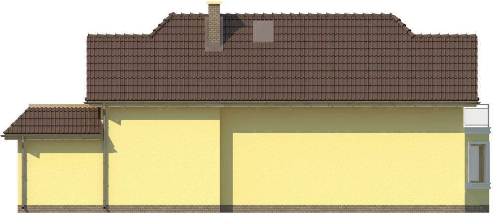 Projekt domu L-5588 C - elewacja