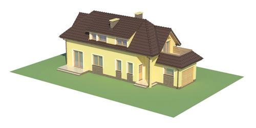 Projekt domu L-5588 C - model