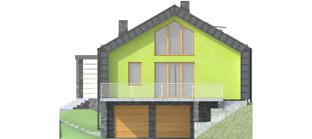 Projekt domu DM-6497 - elewacja