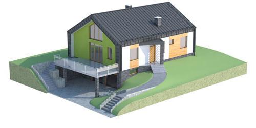 Projekt domu L-6497 - model