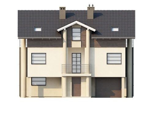 Projekt domu DM-6179 - elewacja