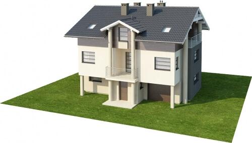 Projekt domu DM-6179 - model