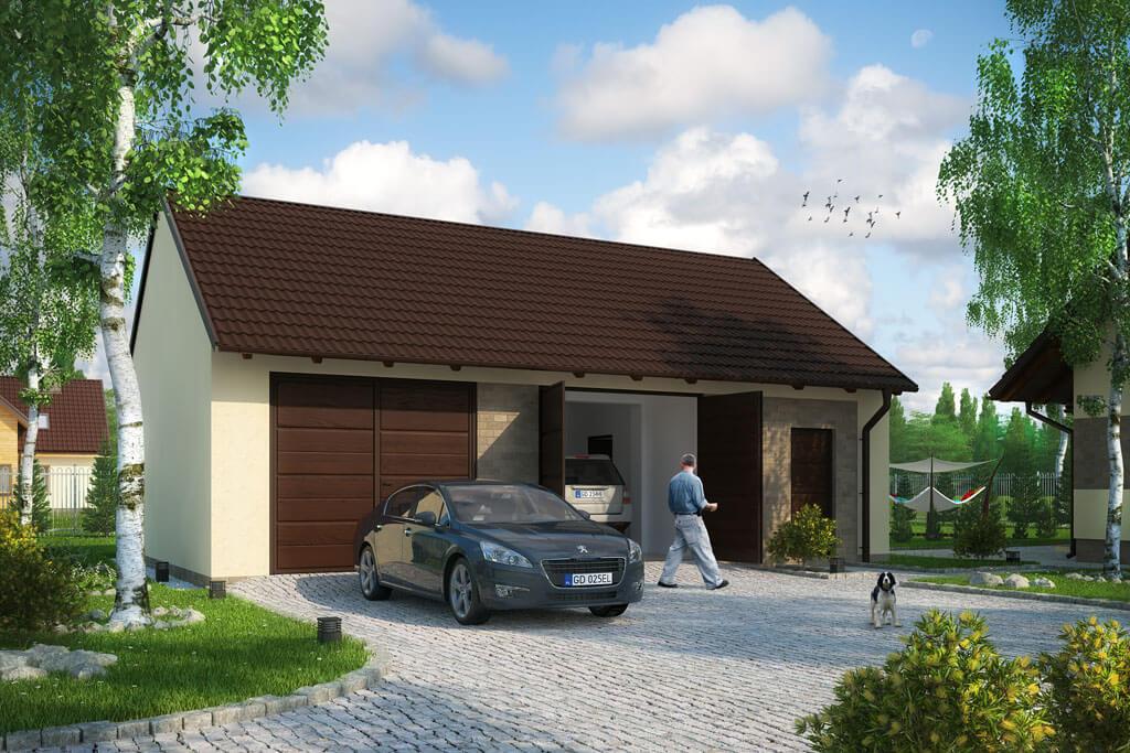 Projekt Budynek Garażowy Zg 89 Pow Uż 8190 M2 Biuro