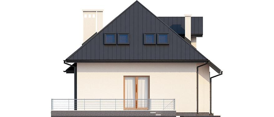 Projekt domu DM-6426 B - elewacja