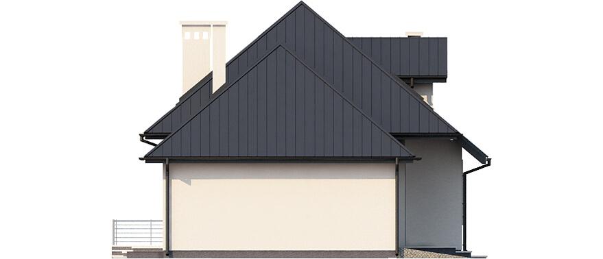 Projekt domu L-6426 B - elewacja