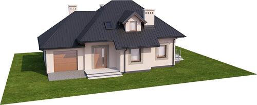 Projekt domu L-6426 B - model