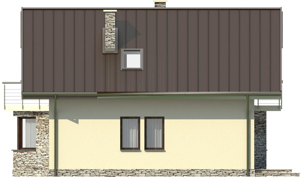 Projekt domu DM-6180 - elewacja