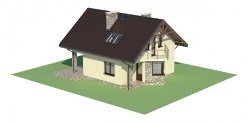 Projekt domu DM-6180 - model