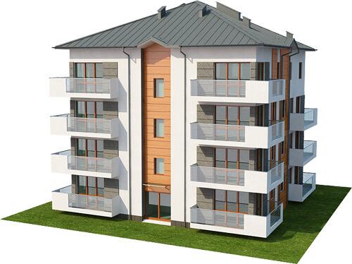 Projekt domu DM-6496 - model