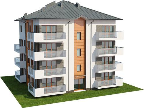 Projekt domu L-6496 - model